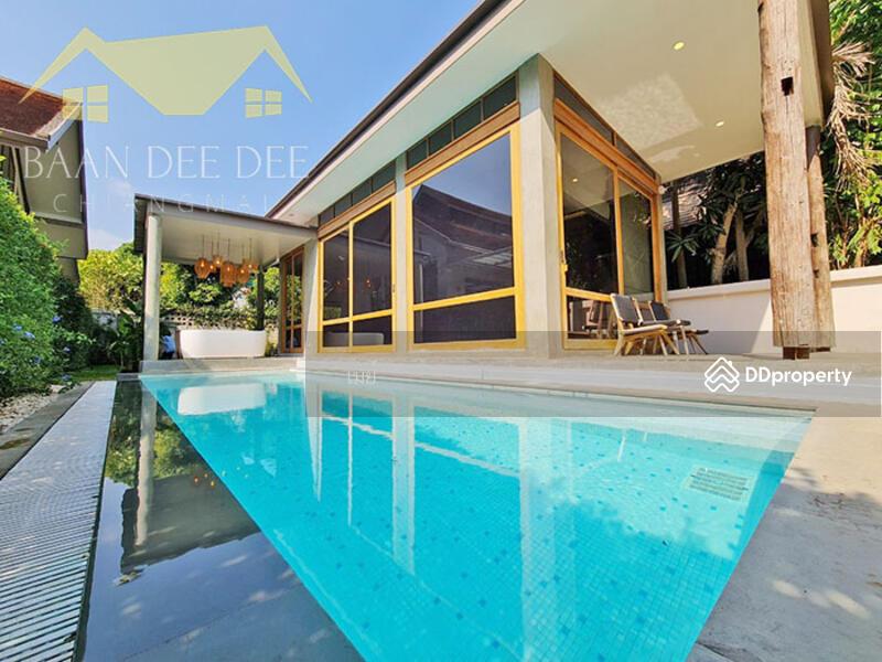 บ้านสไตล์ญี่ปุ่นมินิมอลพร้อมสระว่ายน้ำส่วนตัว ให้เช่าเดือนละ 80,000 บาท No.3H021 #82174526