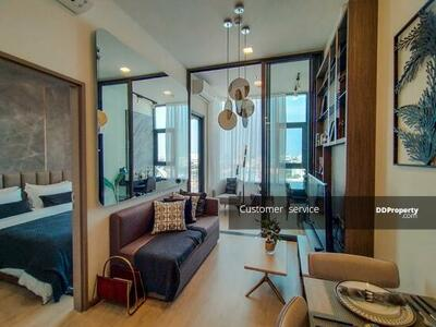 For Sale - CRP-D8-CD-640180 Free floating appliances and furniture, new project Centric Ratchayothin, the heart of Yothin, 34. 72 sq. m. , 1 bedroom, Plus 1 bath, near BTS Ratchayothin Station.