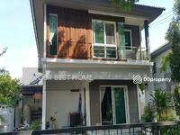 ขาย - บ้านเดี่ยว ทำเลดี กว้างขวาง ราคาถูก ร่มรื่น พฤกลดา วงแหวน-หทัยราษฎร์ คลองสามวา มีนบุรี