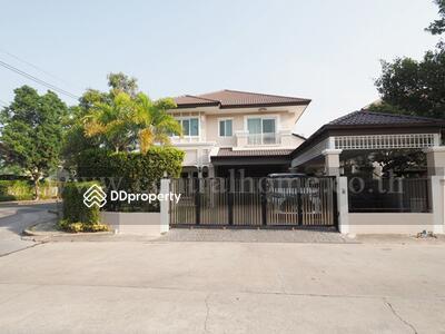 For Sale - บ้านเดี่ยว The Centro Rattanathibet ห้องมุม ถนนเมน