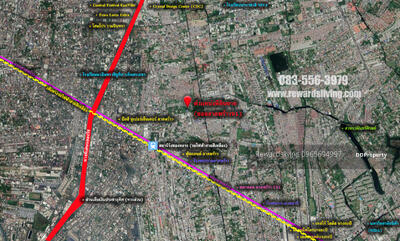 For Sale - Land for sale, Soi Ladprao 91, near BTS Wang Thonglang station.