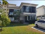 รหัส KRE X847 บ้านเดี่ยว หมู่บ้าน ปัญญาอินทรา P4 (รามอินทรา) แบบ 4ห้องนอน 5ห้องน้ำ พท. ใช้สอย 211 ตร. ม 2ชั้น  เช่า 65000 บาท @LINE:0807811871 คุณ ออน