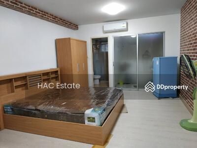 For Sale - (ว่างด่วน)ให้เช่าCity Homeรัชดา10  //สตูดิโอ 28ตรม. ชั้น2 ตึกI3 //Line:@hac55