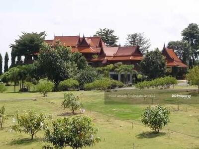 For Sale - Code KRE X1013 House and land Pak Chong - Khao Yai, 4 bedrooms, 6 bathrooms, area 32-3-82 rai, 2 floors, sell 150 million baht @LINE: 0962215326 Khun Omelet