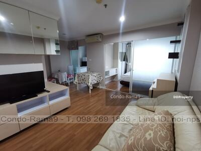 For Sale - SALE ! ! Condo Lumpini Place, MRT Rama 9, 1 Bed, Tower C, Floor 9, 34 sq. m. , 2. 69MB
