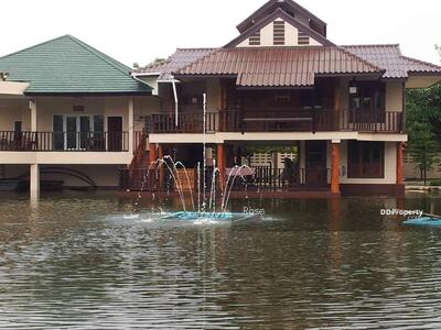 For Sale - Large Detached House on 4 Rai of land with a 1 Rai Fish Pond