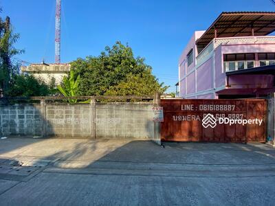 For Sale - ขายที่ดินเสรีไทย ซอย12/1 แถมบ้านเข้าซอยแค่90เมตร พื้นที่84ตรว. หันทิศตะวันตกเฉียงใต้ ถมแล้ว รอบๆเป็นบ้านพักอาศัย