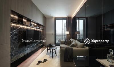 For Rent - ให้เช่า คอนโดสุดหรู THE ESSE Asoke (ติดรถไฟฟ้า MRT #ย่าน CBD วิวกรุงเทพชั้นใน) ห้องขนาดใหญ่ 2 นอน 2 น้ำ 77 ตร. ม. ชั้น 16 ตกแต่งสวยใหม่ +บิ้วท์อินสไตล์ Modern-Luxury #คัดวัสดุคุณภาพสูงจากต่างประเทศ ให้พร้อมเฟอร์และเครื่องใช้ไฟฟ้าทั้งหมด