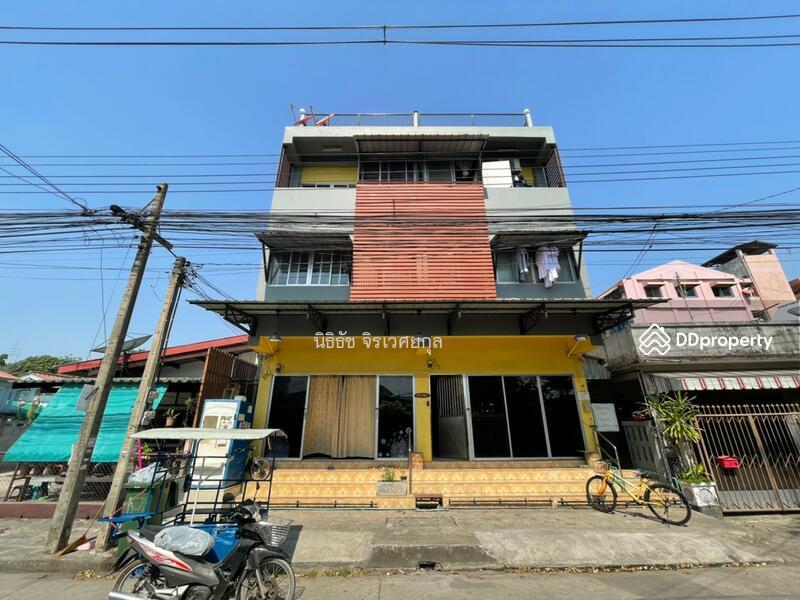 ขาย ตึกแถว 2 คูหาพร้อมผู้เช่า ย่านสะพานสูง เหมาะลงทุน