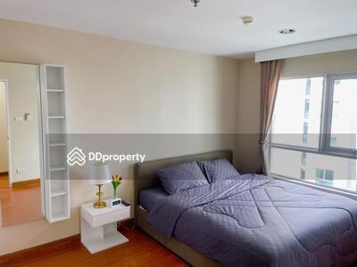 For Rent - Contemporary 2-BR Condo at Belle Grand Rama 9 near MRT Phra Ram 9 (ID 389773)