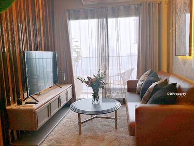 For Rent - E729 Condo for rent, IDEO Sukhumvit93, BTS Bang Chak, 2 bedrooms, With a washing machine.