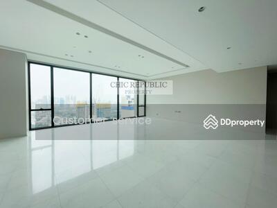 ขาย - CRP-D9-CD-640558 Best Price For Sale, The Residences at Sindhorn Kempinski Hotel Bangkok 4+1 bed 6 bath, BTS Rajdamri only 8 minutes by walk.