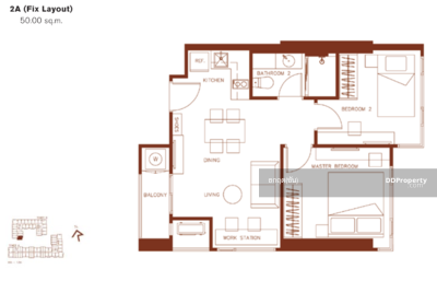 For Sale - Hot Deal! XT Huaykhwang 50 sq. m. , only 6. 99 mb. The project is ready to move in. Call for more information.