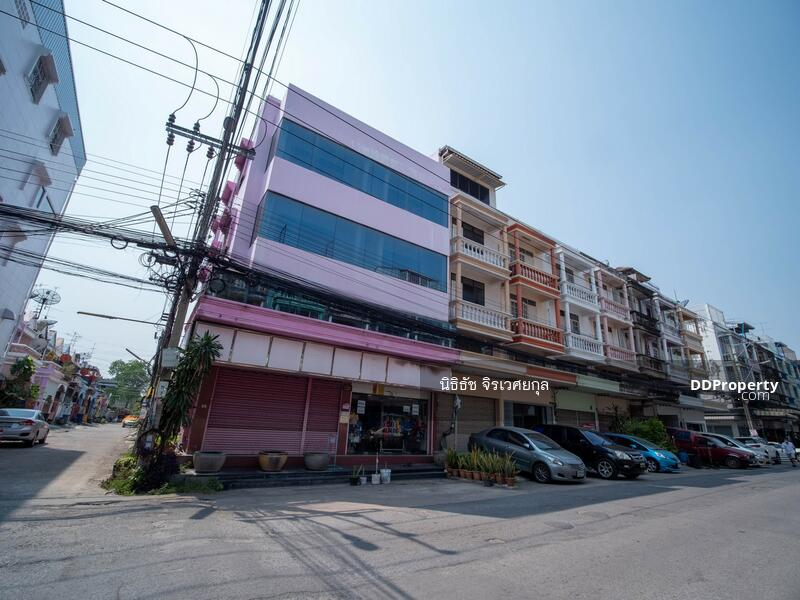 ขาย อาคารพาณิชย์ 4 ชั้น 2 คูหา ตีทะลุ 29.6 ตรว ถนนพระราม2 ซอย 42 เหมาะลงทุน