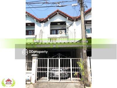 For Sale - ขาย ทาวน์เฮ้าส์ 2 ชั้น 18 ตารางวา หมู่บ้าน เอเวอร์กรีนวิลล์ บางนา
