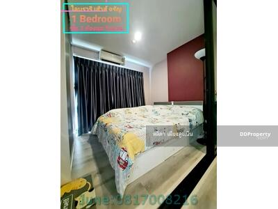 For Sale - Condo Library House Charansanitwong 13 for sale, 3rd floor, corner room, fully furnished, near MRT Charansanitwong Station