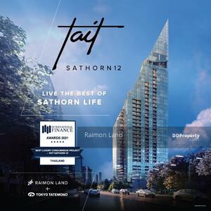 ขาย - TAIT Sathorn12  คอนโดใหม่ใจกลางสาทร เพียง 1 นาทีจาก BTS เซนต์หลุยส์*