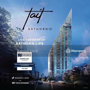 For Sale - TAIT Sathorn12  คอนโดใหม่ใจกลางสาทร เพียง 1 นาทีจาก BTS เซนต์หลุยส์*
