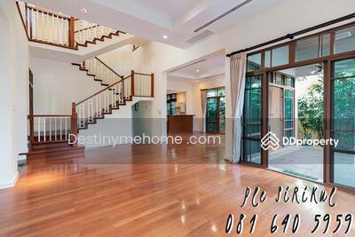For Sale - Urgent sale Baan Sansiri Sukhumvit 67 (corner) 2-storey detached house, level 1 step