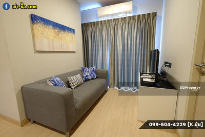 For Rent - 2 Bedrooms, Clean And Comfortable - Lumpini Suite Phetchaburi-Makkasan Condo 43 Sq. m. Plus Built-In In The Whole Room