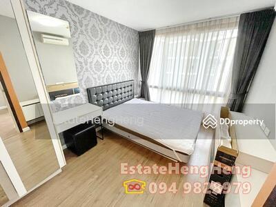 For Sale - For Sale i Condo Sukhumvit 103 FL5, 2B, 2Br, 49sqm, Cheapest, Good location.