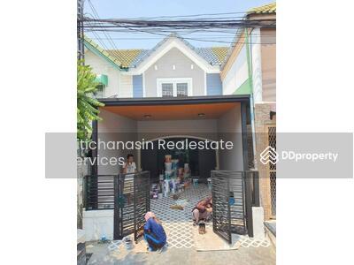 For Sale - Code KRE X1559, single house, Pruksa Village 18/1, 2 bedrooms, 2 bathrooms, area 16 sq. wa, 2 floors, sold 1, 590, 000 baht @LINE: 0962215326 Khun Kae