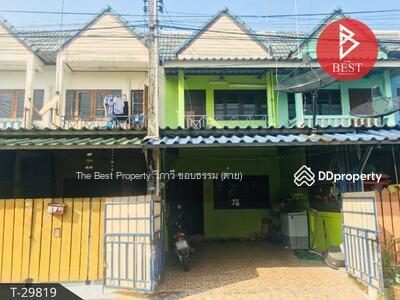 ขาย - ขายทาวน์เฮ้าส์ 2 ชั้น หมู่บ้านพานทองแท้ 4 ศรีราชา ชลบุรี