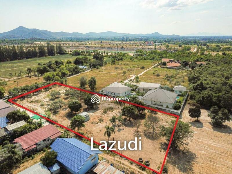 Lazudi Great 2 Rai Land For Sale - 15 Minutes From Downtown Hua Hin