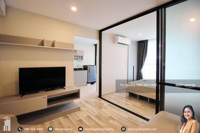 For Rent - JY-R00030 For Rent The Cube Premium Ratchada 32 Condo, 28 sq. m, the 6th floor, 1 bedroom, 1 bathroom beautiful decoration.