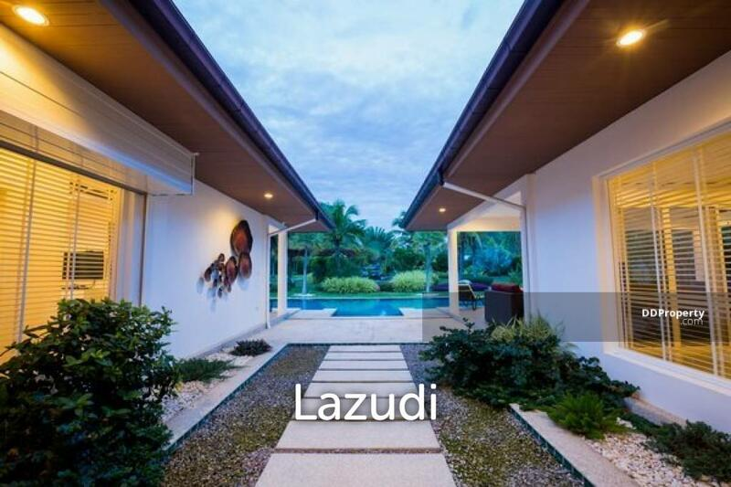 Lazudi ORCHID PALM HOMES 6: 4 BED POOL VILLA ON LARGE LAND PLOT