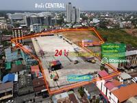 ขาย - ขายที่ดิน ทำเลทอง #ใจกลางเมืองโคราช หลัง CENTRAL (เหมาะสร้างมิกซ์ยูส โครงการอยู่อาศัยพร้อมแหล่งCAFEชั้นนำ) 24-0-0 ไร่ หน้ากว้างติดถนน 85m. ทำเลทอง หลังCENTRALโคราช #คมนาคมแสนสะดวกสบาย เข้าถึงได้หลายเส้นทาง