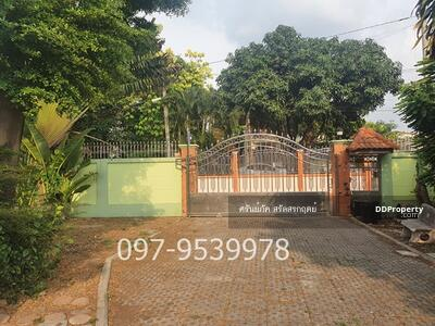 For Sale - Single house 400 sqw. 20 million baht, Soi Bypass, Non Buri 11, Nonthaburi Province Near Central Plaza Rattanathibet, MRT Nonthaburi station