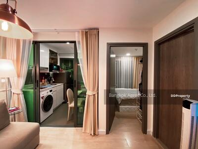 ให้เช่า - Rent ให้เช่า Metro Luxe Rose Gold Phahol - Sutthisan (เมโทร ลักซ์ โรสโกลด์ พหลฯ - สุทธิสาร) 1ห้องนอน 28 ตร. ม. ห้องสวย ใกล้ BTS สะพานควาย / MRT สุทธิสาร [ER] (New1248)