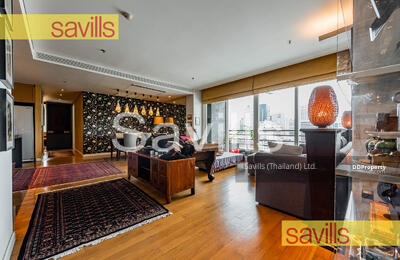 For Rent - The Royal Saladaeng for Rent 3 Bedrooms , Fully Furnished , Ready to Move-In , Closed BTS Saladaeng and MRT Silom (Ref id. 055780)