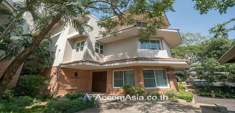 House in compound House 4 Bedroom For Rent in Petchaburi Bangkok ( AA27418 ) #85169192