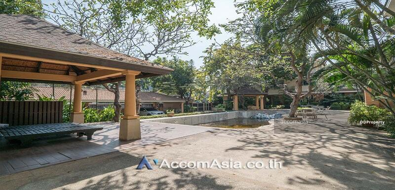 House in compound House 4 Bedroom For Rent in Petchaburi Bangkok ( AA27418 ) #85169198