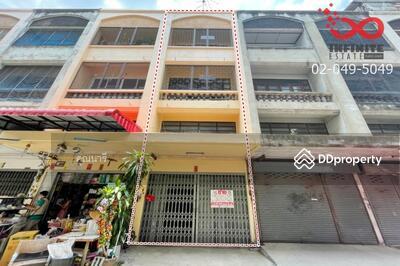 For Sale - ขายอาคารพาณิชย์ 3. 5 ชั้น หมู่บ้านธนะสิน โครงการ 4 ถนนนวมินทร์
