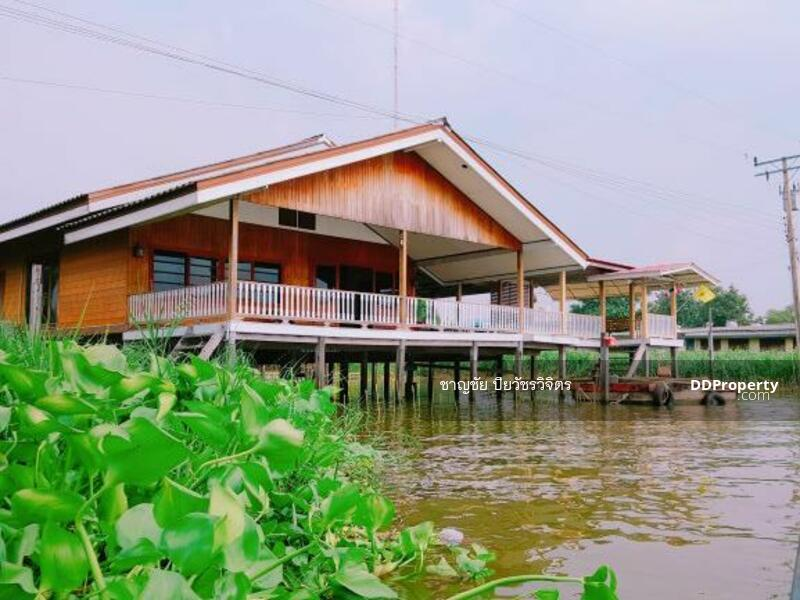 บ้านริมแม่น้ำเจ้าพระยา เกาะเกร็ด #85420466