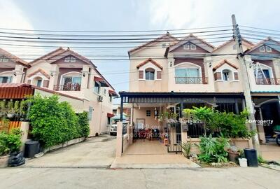 For Sale - Townhouse for sale, Sinlapakarn Park 4, Wat Lat Pla Duk, Bang Bua Thong, corner house, beautiful house, ready to move in, near the road