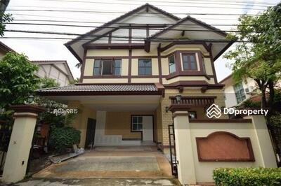 For Sale - ขายบ้านเดี่ยว โครงการคุณภาพของ Q-House สภาพใหม่ หมู่บ้านลัดดารมย์เอกมัย-รามอินทรา ใกล้ห้างคริสตัล