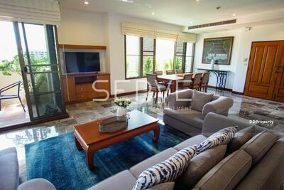 For Rent - Nice Room & Good Location 3 Bed with Bathtub 268 sq. m. Close to BTS Phrom Phong -Raintree Village Apartment (เรนทรี วิลเลจ อพาร์ทเมนท์)