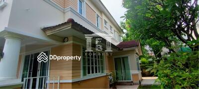 For Sale - 40787 - ขายบ้านเดี่ยว 2 ชั้น ในหมู่บ้านนันทวัน อ่อนนุช-วชิรธรรม 3 ห้องนอน 97 ตร. ว. | 40787
