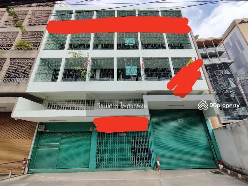 ขายถูก อาคารพาณิชย์ พระราม 3 # 4.5 ชั้น (หน้ากว้าง—ติดถนน 14 m.) บนเนื้อที่ 187 ตร.ว.