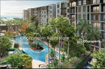 For Rent - Notify the code KRE-A4189 La Habana Huahin, 1 bedroom, 1 bathroom, 36 sq. m. , XX rental floor 15, 000 baht @line: 0839258557, Khun Gift