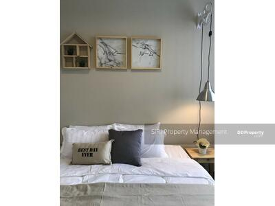 For Sale - For sale, Unixx South, Pattaya, 1 bed, West view, high floor, stylish decoration, best price, work desk, dining table, appliances + built-in furniture