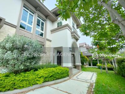 For Rent - HH-622934 House for rent, Nantawan Bangna Km 7, near Mega Bangna 140 sq m, 440 sq m, 4 bedrooms, 6 parking spaces.