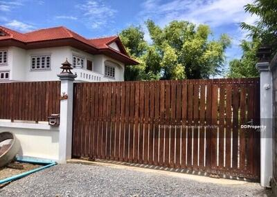 For Sale - Notify the code KRE-X2005 Single house, Soi Kantana, Bang Yai Kanchanaphisek Road, 5 bedrooms, 4 bathrooms, area of 395 sq. w. 2 floors, sold 14, 000, 000 baht **** If you do not answer the call 0962215326 Khun Mew