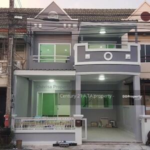 For Sale - 2 storey townhouse for sale, new decoration, classic home, Sriracha