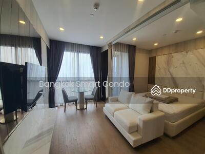 For Rent - ให้เช่า Ashton จุฬา-สีลม 1 นอน 34 ตรม. ชั้น 40 ห้องสวย วิวดีมาก Fully Furnished ใกล้ MRT สามย่าน