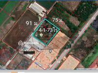 ขาย - ขายที่ดินเปล่า ทำเลดี 4 -1-73 ไร่ ถนนสุวินทวงศ์ เขตหนองจอก กรุงเทพ